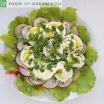 Pavasara slāņu salāti