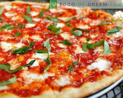 Pizza dough without yeast as in pizza, recipes