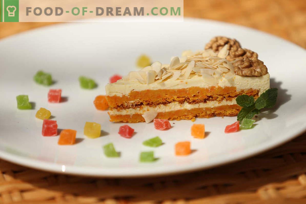Burkānu kūka recepte: kā gatavot saldu un maigu dārzeņu kūku mājās