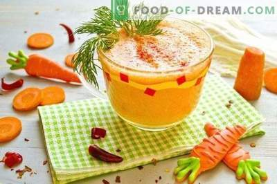 Hangover Cocktail - vegetable smoothie with hot pepper and Greek ...