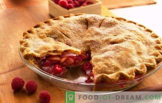 Pie with raspberries in a slow cooker - summer tea! Six recipes for raspberry pies in a slow cooker: biscuit, fill, semolina