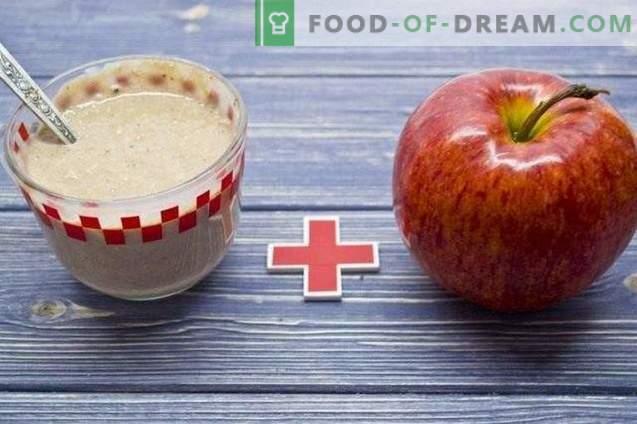 Apple un Hercules Smoothies - veselīgas brokastis
