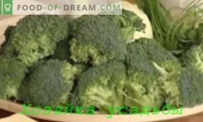 Brokoļu kāpostu ēdieni
