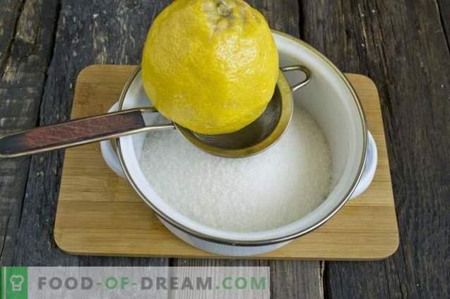 Aprikožu ievārījums ar citronu