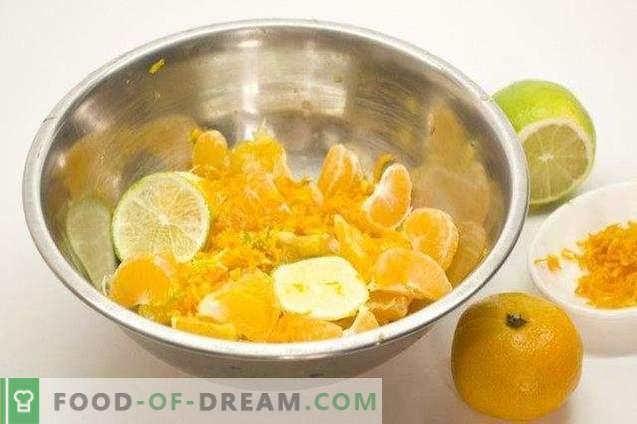 Apelsīnu kurdu Tartlets