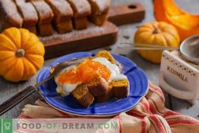 Ķirbju kanēļa kastrolis - veselīgs un garšīgs deserts