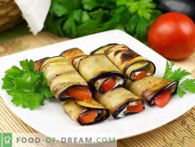 Teściowa bakłażana - najlepsze przepisy. Jak prawidłowo i smacznie gotować język Teschin z bakłażana.