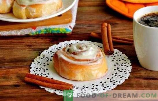 Sinabona maizītes mājās - saldās rozes uz galda! Sinabona receptes mājās ar kanēli, kakao, magoņu sēklām, ievārījumu