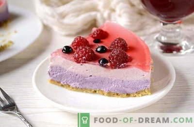 Pašdarināts želejas kūka bez cepšanas - ideāls deserts brīvdienai. Pierakstiet recepti!