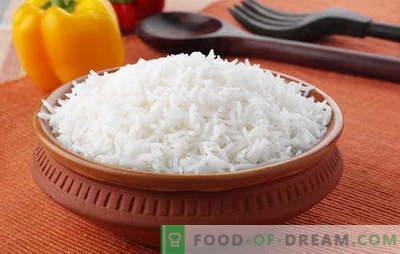 Kā pagatavot rīsus tā, lai tā būtu drupināta. Receptes no vaļējiem rīsiem, rīsu gatavošanas noslēpumu, tā, ka tas bija smalks