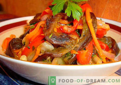 Pikanti salāti - labākās receptes. Kā pareizi un garšīgi pagatavot pikantus salātus.