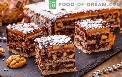 Karaļa kūka bez miltiem ir lielisks deserts! Vienkāršas receptes karaļa kūka bez miltiem ar cieti, riekstiem, krekeriem