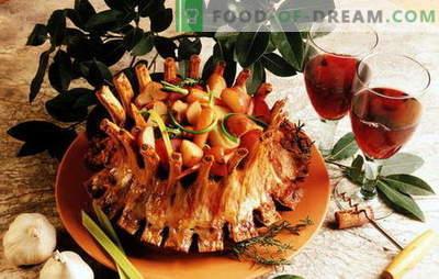 Saftiges königliches Fleisch: die besten Rezepte eines beliebten Gerichts. Königliches Fleisch mit Kartoffeln, Orangen, Kiwi, Auberginen