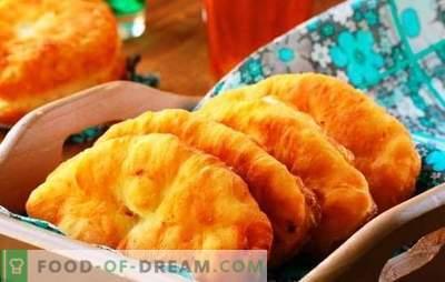 Cepta ābolu pīrāgi - klasiskas un oriģinālas receptes. Ceptu pīrāgu gatavošana ar āboliem ir patīkama pieredze