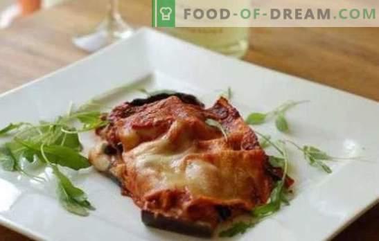 Baklažāni ar sieru un ķiplokiem krāsnī - pamatskola un elegants! Receptes dažādiem baklažānu ēdieniem ar sieru un ķiplokiem krāsnī