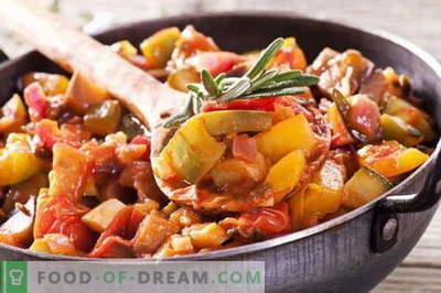 Dārzeņu sautējums ar gaļu - labākās receptes. Kā pareizi un garšīgi pagatavot dārzeņu sautējumu ar gaļu.