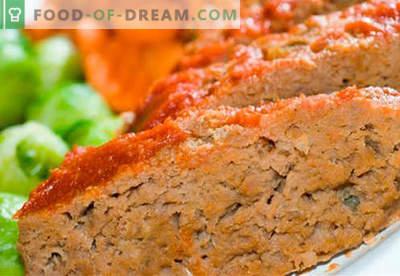 Suflê de carne - as melhores receitas. Como cozinhar rapidamente e saboroso souffle de carne.