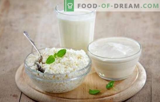 Noderīgs produkts ir mājas siers, kas izgatavots no piena un kefīra. Visi mājās gatavota biezpiena pagatavošanas noslēpumi no piena un kefīra