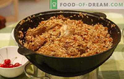 How to cook pilaf in a cauldron? Old recipes for cooking crumbly pilaf in a cast-iron cauldron: with different types of meat