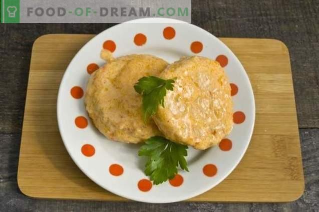 Morceaux de poulet délicats avec courgettes en sauce aigre-douce