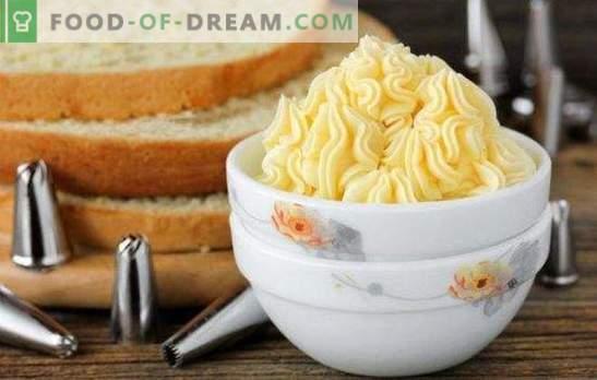 Custard uz dzeltenumiem ir garšīga! Vairākas olu šķirņu šķirnes ar dzeltenumiem un desertiem: pīrāgi un putas