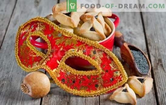 Amana ausis ir ebreju svētku recepte. Pavāri