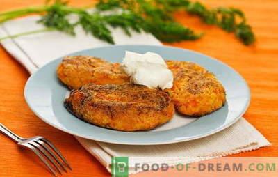 Garšīgi dārzeņu pīrādziņi: labākās receptes. Dārzeņu kotletes vārīšanai pannā, krāsnī, tvaicējot