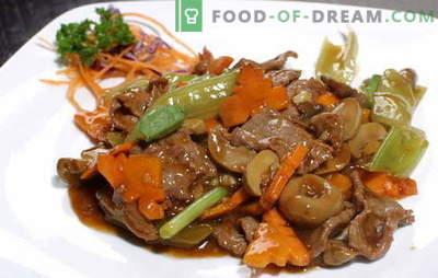 Carne en salsa de soja: cerdo y ternera. Las 10 mejores recetas para cocinar carne con salsa de soja marinada