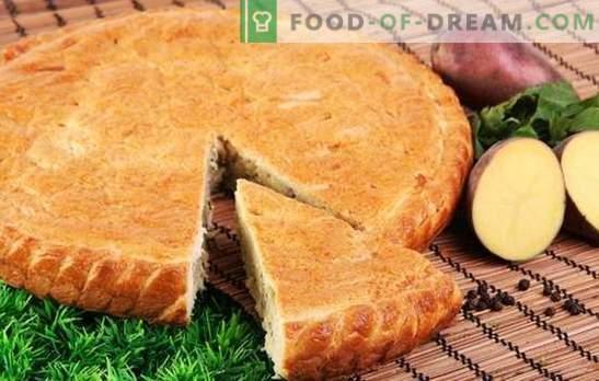 Kartupeļu pīrāgi par kefīru - Osetijas ekvivalents! Gaļa, zivis vai dārzeņi - kartupeļu pīrāgu un kefīra receptēs