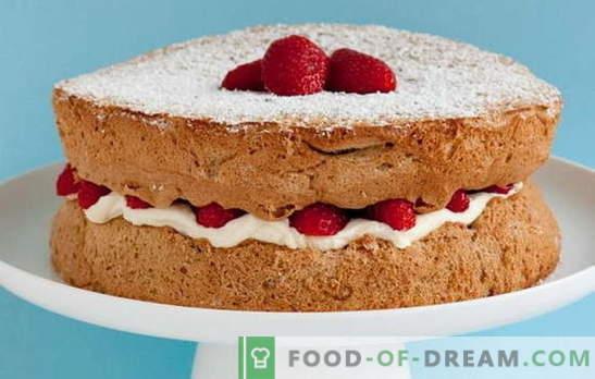 Kā mājās veidot sūkli? Labākās receptes sūkļa kūka mājās: noteikti gūs panākumus!