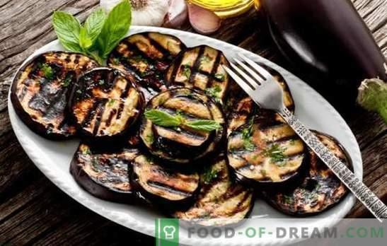 Kā pagatavot baklažānus garšīgi un ātri. Baklažānu ēdieni pannā ar sieru, garšaugiem un dārzeņiem