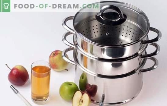 Kā vārīt sulu sulas no āboliem ziemā? Ļoti vienkārši! Smalkumi un triki: ar ko un kā pagatavot sulu ābolu sulas plītī