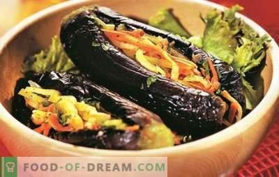 Baklažānu pildījums ar dārzeņiem ziemas gatavai uzkodai. Labākās baklažānu receptes, kas pildītas ar dārzeņiem ziemai