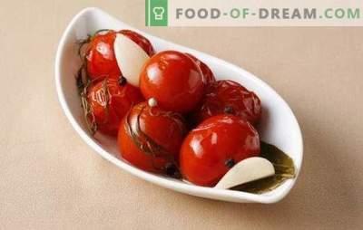 Sālīti tomāti ziemai: vitamīnu banka. Vienkāršas un garšīgas gatavošanas iespējas sālītiem tomātiem ziemai