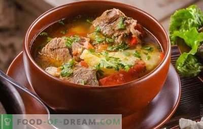 Khashlama armēņu valodā ir austrumu viesis! Armēnijas stilā barojošs khashamas receptes ar dažādiem dārzeņiem, gaļu, mājputniem, sēnēm, cidoniju