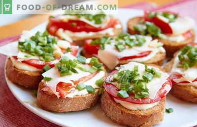Ātrās un vienkāršās sviestmaizes ir labākās receptes. Kā ātri un garšīgi pagatavot vienkāršas sviestmaizes steigā.