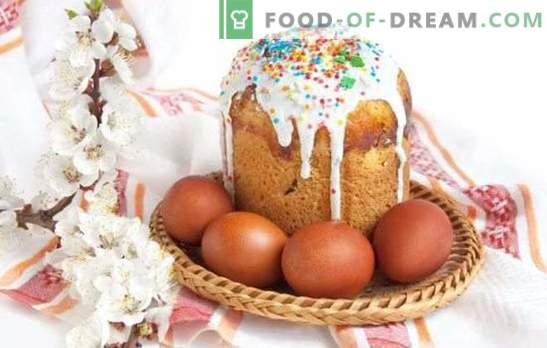 Kulichi uz rauga - gatavojoties spilgtai brīvdienai. Receptes mājās gatavotām Lieldienu kūkām ar raugu, saldētiem augļiem, biezpienu un citiem