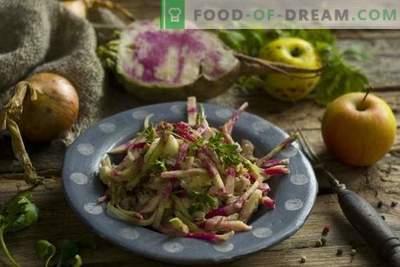 Garšīgi un veselīgi redīsu salāti ar vistu