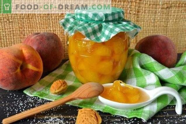 Konservēti persiki ingvera sīrupā