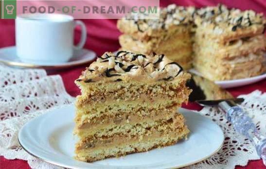 Sandkuchen - Rezepte für krümelige Desserts. Einfache und interessante Rezepte für Sandkuchen mit Sahne, Marmelade, Hüttenkäse