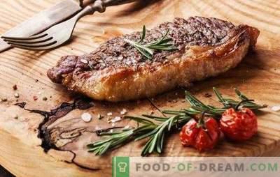 Stek wołowy w piekarniku - dla prawdziwych miłośników mięsa. Jak ugotować pyszny i soczysty stek wołowy w piekarniku