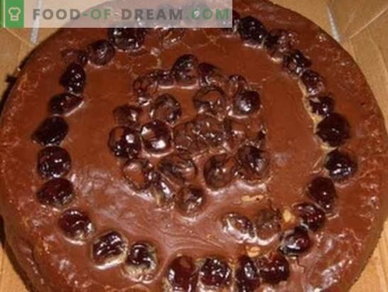 Lielā Prāgas kūka: receptes ar fotogrāfijām, soli pa solim. Atlases paraugi no labākajām Prāgas kūkām ar fotogrāfijām