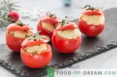 Ko ātri var pagatavot no tomātiem? Piedāvājam gardus uzkodas, pirmās un otrās ēdienus tomātu steigā