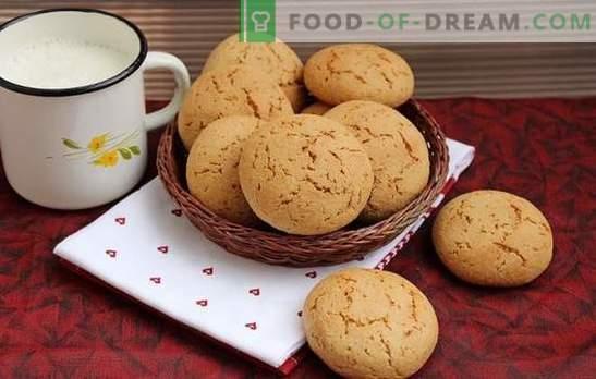 Kaerajahu küpsised on kasulik omatehtud raviks. Kaerajahu küpsiste retseptid mee, ingveri, kaneeli, apelsini koorega