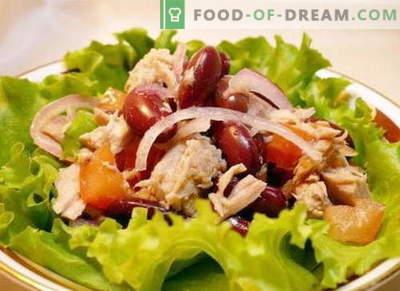 Salāti ar vistu un pupiņām - labākās receptes. Kā pareizi un garšīgi sagatavot vistas un pupiņu salātus.