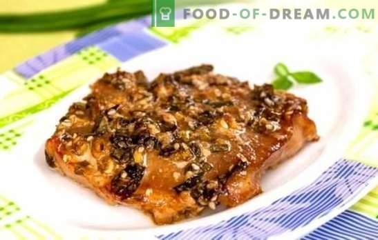 Cūkgaļa sojas mērcē cepeškrāsnī - smaržīga maltīte bez lielām pūlēm. Receptes gardām cūkgaļām sojas mērcē krāsnī