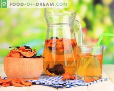 Kompots no žāvētiem augļiem - labākās receptes. Kā pareizi un garšīgi kaltētus augļus.