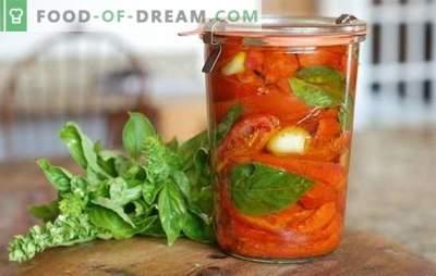 Tomatiga tomatid talveks: 8 parimat tõestatud retsepti. Kuidas teha tomatite saagiks äädika talveks