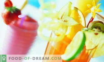 Brezalkoholni koktajl recepti - najbolj okusni in zdravi