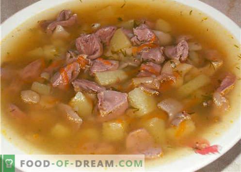 Svinjska juha - najboljši recepti. Kako pravilno in okusno kuhati svinjsko juho.